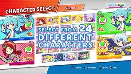 Teaser Trailer de Puyo Puyo Tetris