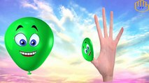 Colors Balloons Finger Family Rhymes Collection | Colours Balloons Finger Family Nursery Rhymes
