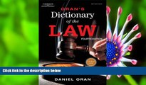 READ book Oran s Dictionary of the Law Daniel Oran For Ipad