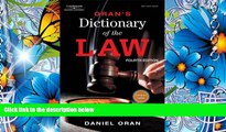 READ book Oran s Dictionary of the Law Daniel Oran For Kindle