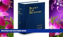 FREE [DOWNLOAD] Black s Law Dictionary, 10th Edition Bryan A. Garner Full Book