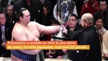 """Un Japonais sacré """"yokozuna"""", le titre suprême du sumo"""