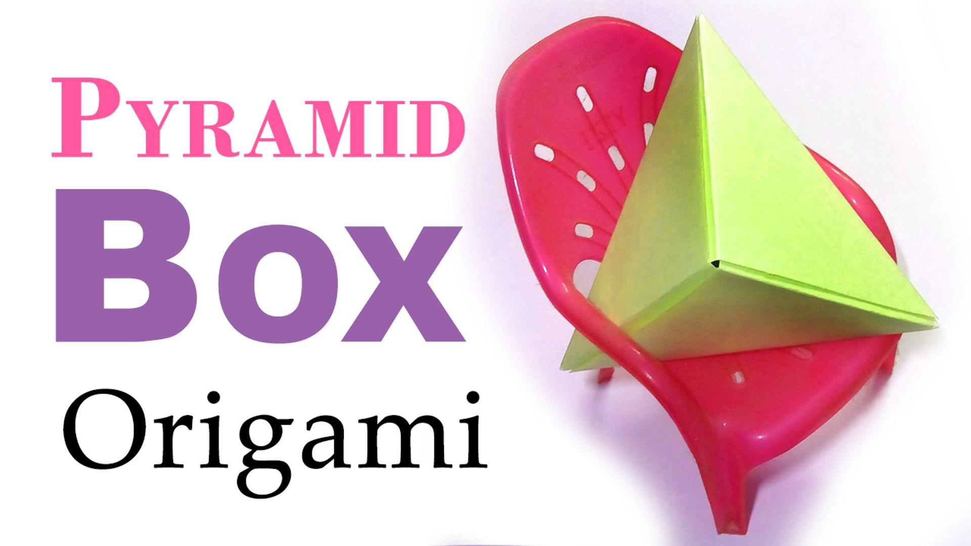 Origami Pyramid Pixels for 3D Paper Wall Art | Origami wall art ... | 1080x1920