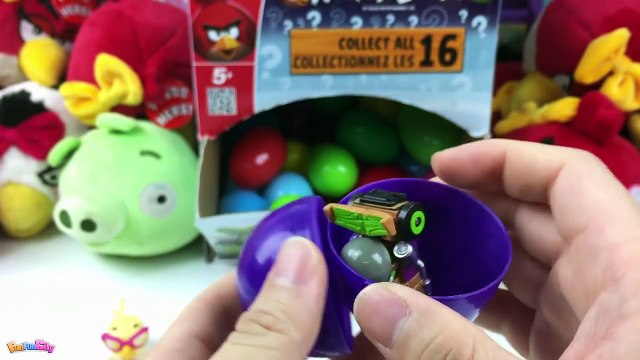 30 Surprise Eggs Angry Birds Go, Angry Bird Space, Angry Birds Stella, Angry Birds Transformers Eggs