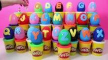 Alphabet Surprise Eggs Learn ABC Aprender el Abecedario con Huevos Sorpresa Toy Videos