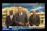 Audience du chef de l'Etat avec le ministre marocain des affaires étrangères
