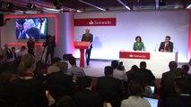 Banco Santander considera muy buenos sus resultados de 2016