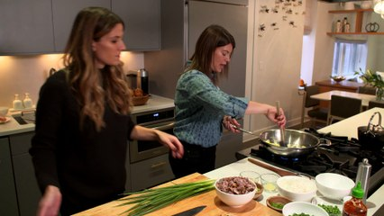 Eden Eats NYC with Top Chef's Gail Simmons (holiday dish)