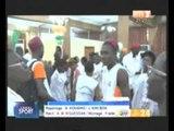 Sport: les ivoiriens champions d'Afrique de Taekwondo célébrés à leur retour de Tunis