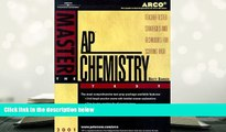 Read Online Arco Master the Ap Chemistry Test 2001: Teacher-Tested Strategies and Techniques for
