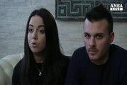 """Giorgia e Vincenzo: """"il soffitto dell'hotel 50 cm sopra la nostra testa"""""""