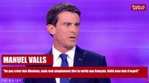 """Manuel Valls : """"Ne pas créer des illusions, tout simplement dire la vérité aux français""""Ne pas créer des illusions, mais tout simplement dire la vérité aux français. Voilà mon état d'esprit"""""""