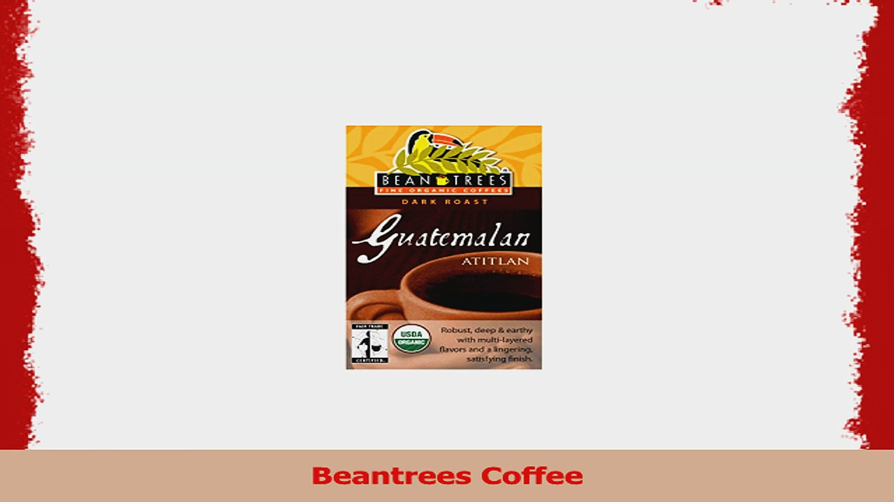 Beantrees Coffee Whole Bean Organic Guatemalan Atitlan 5LB Bulk Bag e4327b8b