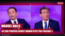 """REPLAY. Manuel Valls : """"ce que propose Benoit Hamon n'est pas possible"""""""