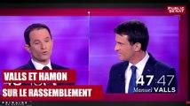 REPLAY. Valls et Hamon sur le rassemblement