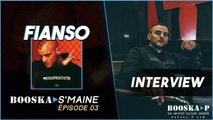 Fianso évoque son département le 93, Booba, sa période difficile dans le rap [Booska S'maine 3/5]