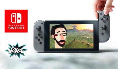Voxel découverte# La Nintendo SWITCH, pas convaincu mais...