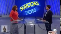 (Debate Eleições Prefeitura RJ 2016) Jandira Feghali x Globo - Turn Down For What!