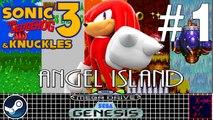 Sonic 3 & Knuckles - Mega Drive & Sega Genesis - #1 - Knuckles - Angel Island