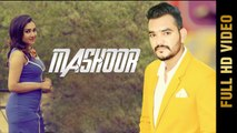 Mashoor HD Video Song Avi Aujla 2017 New Punjabi Songs