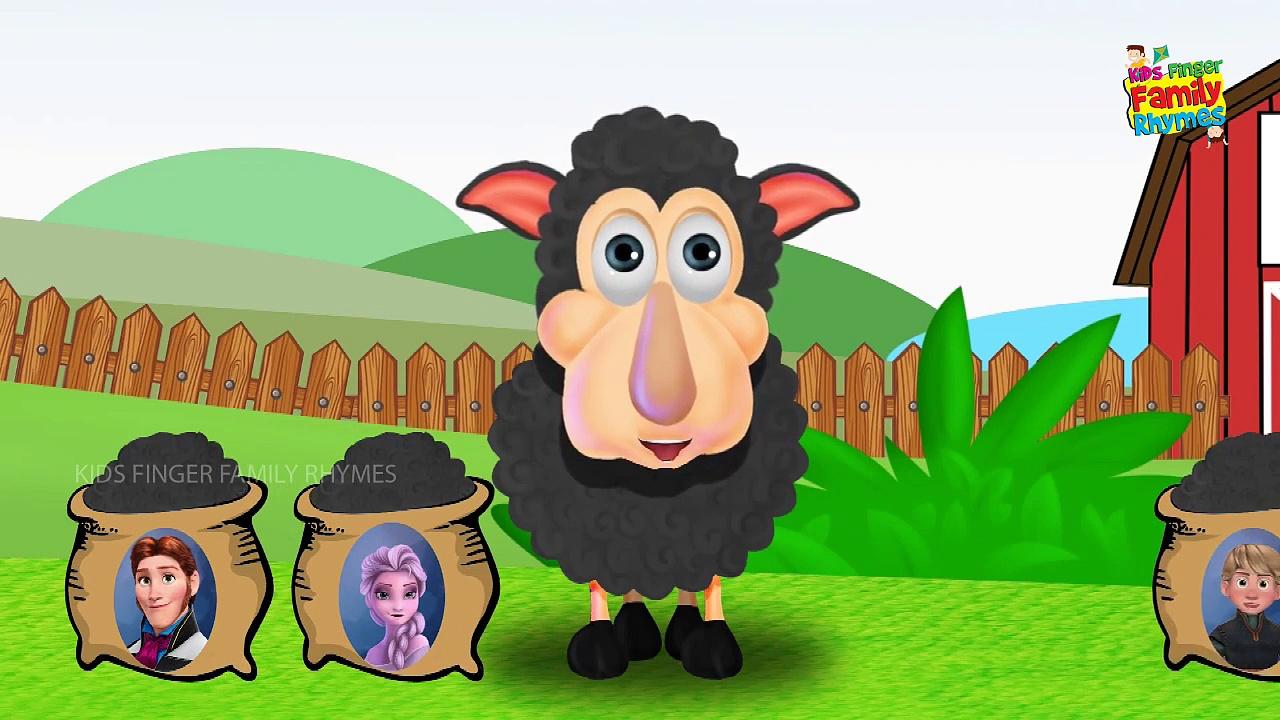 Frzen Hans with Ba ba black sheep | Baa Baa Black Sheep – The Joy of Sharing!