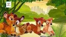 BAMBI | Bambi Finger Family | Bambi Finger Family Cartoon Toy Animation Nursery Rhymes For Children