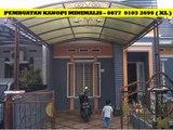 Kanopi Rumah Minimalis Sidoarjo  HUB.0877- 0103 – 2699 ( XL )