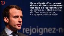 Accusé d'avoir abusé de frais de représentation à Bercy, Macron met les choses au point