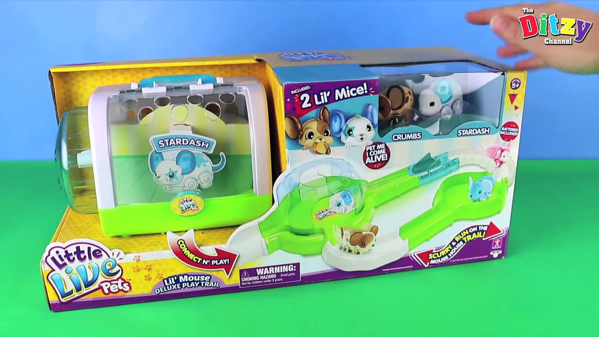 New Little Live Pets Lil Mouse Play Trail Toy Unboxing And Adorable Fun Play 2 Pet Mice 動画 Dailymotion