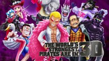 One Piece: Thousand Storm, nuevo juego RPG online para móviles Android y iPhone