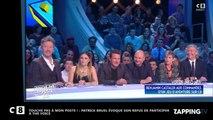 TPMP: Patrick Bruel bientôt dans The Voice? Le chanteur répond (Vidéo)