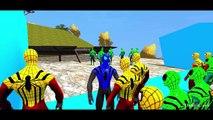Blue Spiderman & Colors Spiderman Nursery Rhymes Disney Pixar Cars Lightning McQueen