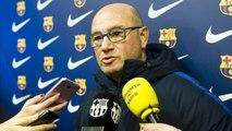 FCB Femenino: Declaraciones de Xavi Llorens y Mariona Caldentey previas al Santa Teresa