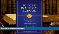 Download [PDF]  Success in Medical School: Insider Advice for the Preclinical Years For Kindle