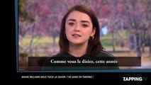Game of Thrones : Maisie Williams (Arya Stark) tease le début de la saison 7 (vidéo)