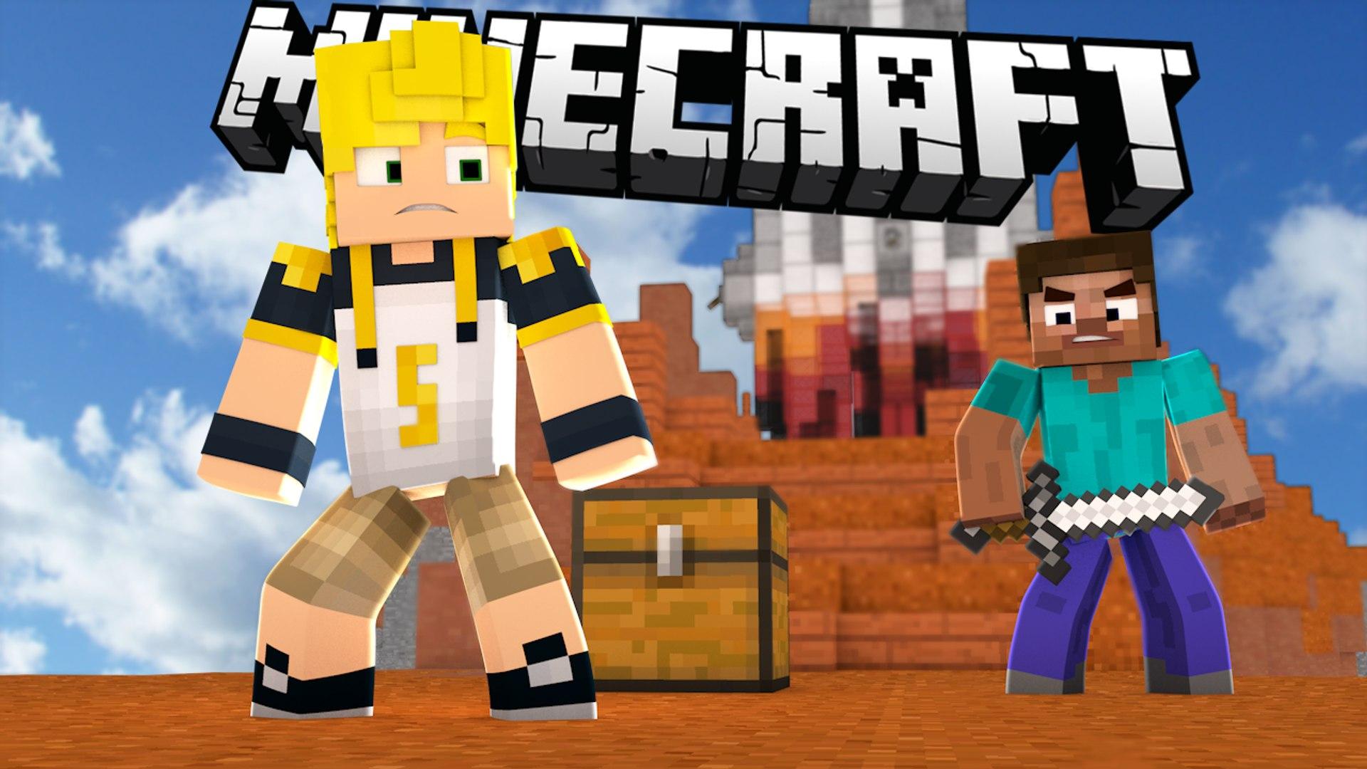 Minecraft: SOU UM MITO!! - SKYWARS