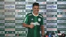 Willian chega ao Palmeiras se dizendo mais experiente e afirma que vai brigar pelo seu espaço