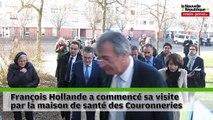 VIDEO. Poitiers : promenade de santé pour François Hollande