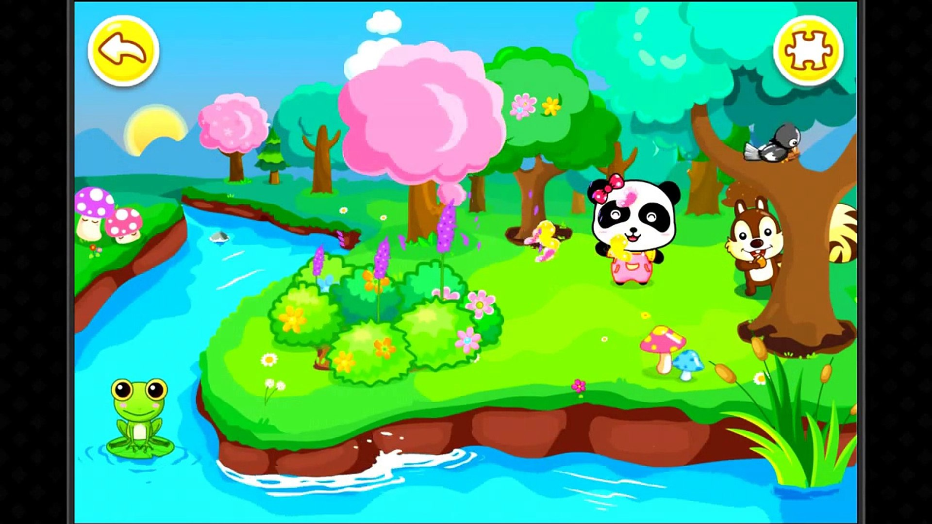 Panda games Babybus -Natural seasons-Panda is having fun with SeasonsПанда весело с сезонами