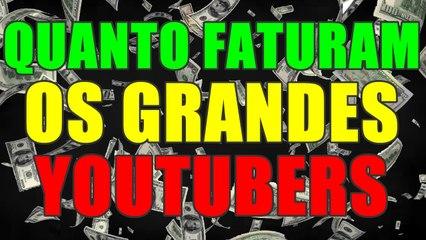QUANTO FATURAM OS GRANDES YOUTUBERS 2016-2017 - AjudaTube.com.br