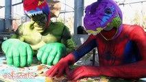 SPIDERMAN v Darth Vader PingPong & Doctor Spiderman & Spider-man BathTime Fun Superhero in Real Life
