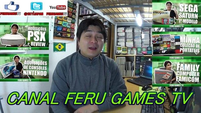 Museu dos videogames itinerante Part 02  (2017) Mr jhon gamer