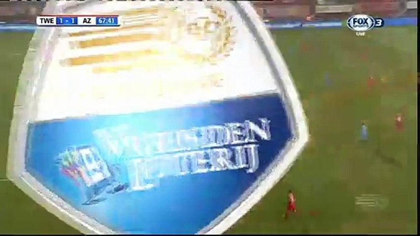 1-1 Enes Unal Goal HD - Twente 1-1 AZ Alkmaar - 17.12.2016