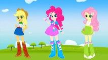 My Little Pony Equestria Girls Transforms Into Mermaids Applejack Pinkie Pie Fluttershy
