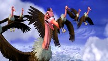 Bal Hanuman 2 - Bal Hanuman Fights The Vultures - Animated Action Scene