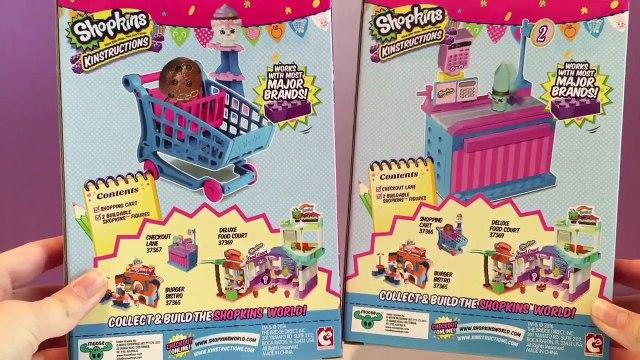 Shopkins Kinstructions Shopping Cart & Checkout Lane