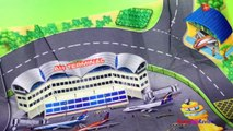 Speed Track Airport playmat with Airplanes Helicopters and Disney pixar planes Dusty Crophopper