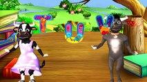 Kids Nursery Rhymes Cow Animated ABC Songs Preschool Kindergarten 3D Animated Alphabet Phonics Songs