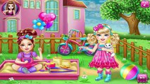 Chelsea Flu Doctor Care - Barbie Baby Care Game - Barbie games