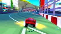 [ Lightning McQueen ] CARS 2 IN HD - Fast As Lightning Mcqueen & Tow Mater Race Around Radiator Spri